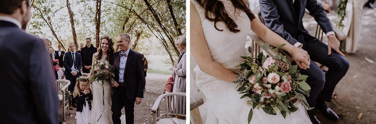 Trauung Weidendom - Spreewaldresort Seinerzeit Hochzeitsfotograf © www.hochzeitslicht.de