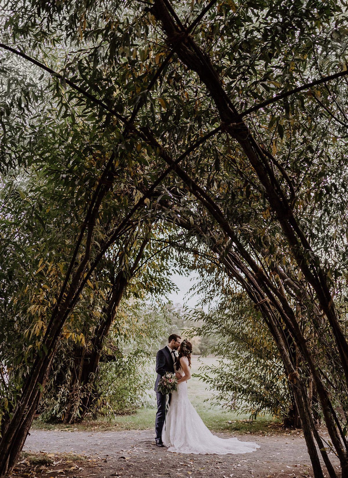 Hochzeit Weidendom - Spreewaldresort Seinerzeit Hochzeitsfotograf © www.hochzeitslicht.de