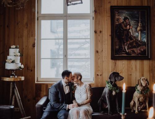 Alternative Indie Winterhochzeit im The Grand Berlin – Hochzeitsidee