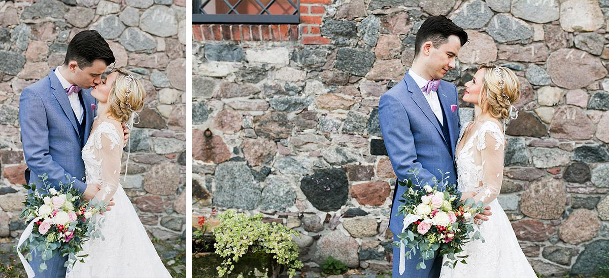 Hochzeitsfotos Brautpaar Schloss Britz Hochzeit - Ochsenstall Schloss Britz Hochzeitsfotograf © www.hochzeitslicht.de