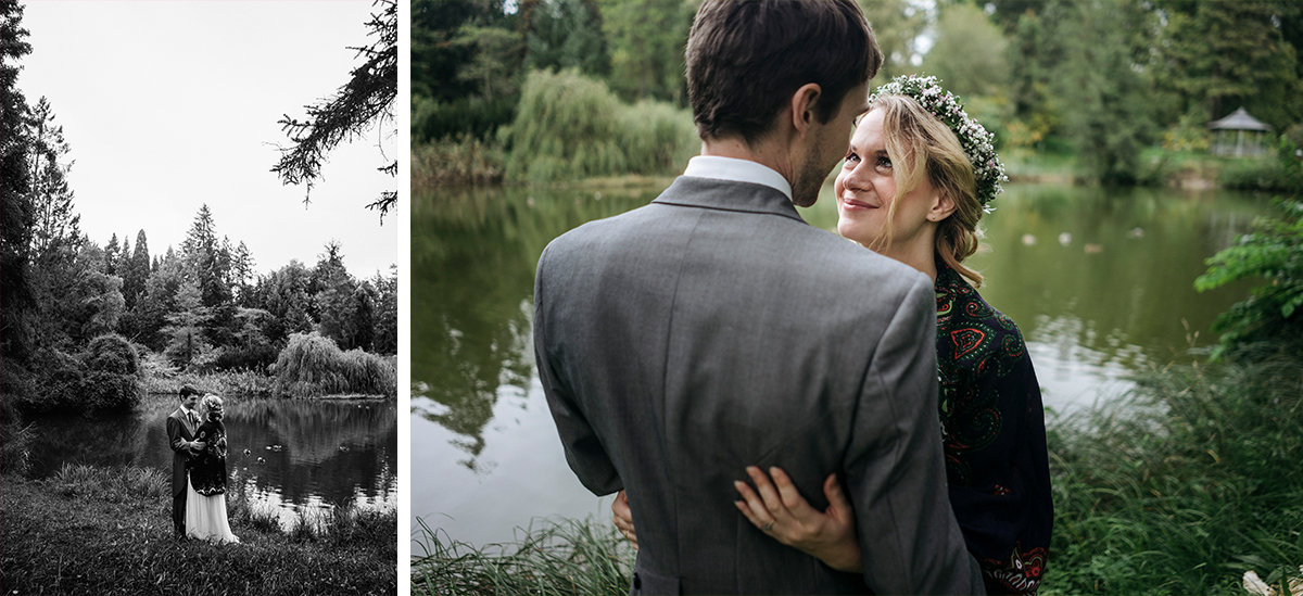 romantisches Fotoshooting After Wedding - Botanischer Garten Berlin Hochzeitsfotograf © www.hochzeitslicht.de