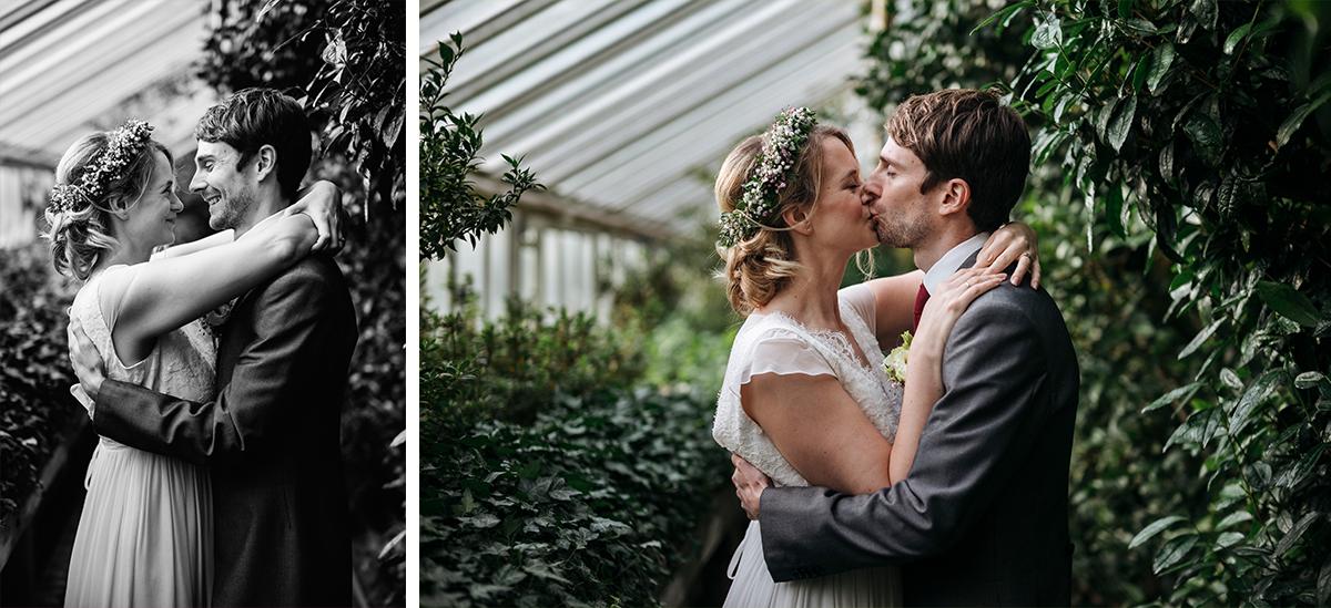 After Wedding Fotoshooting Gewächshaus- Botanischer Garten Berlin Hochzeitsfotograf © www.hochzeitslicht.de