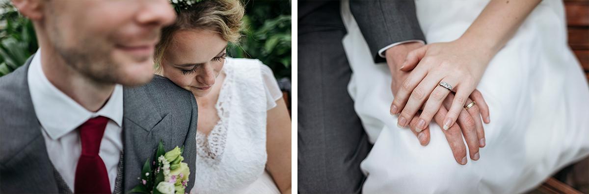 After Wedding Shooting - Botanischer Garten Berlin Hochzeitsfotograf © www.hochzeitslicht.de