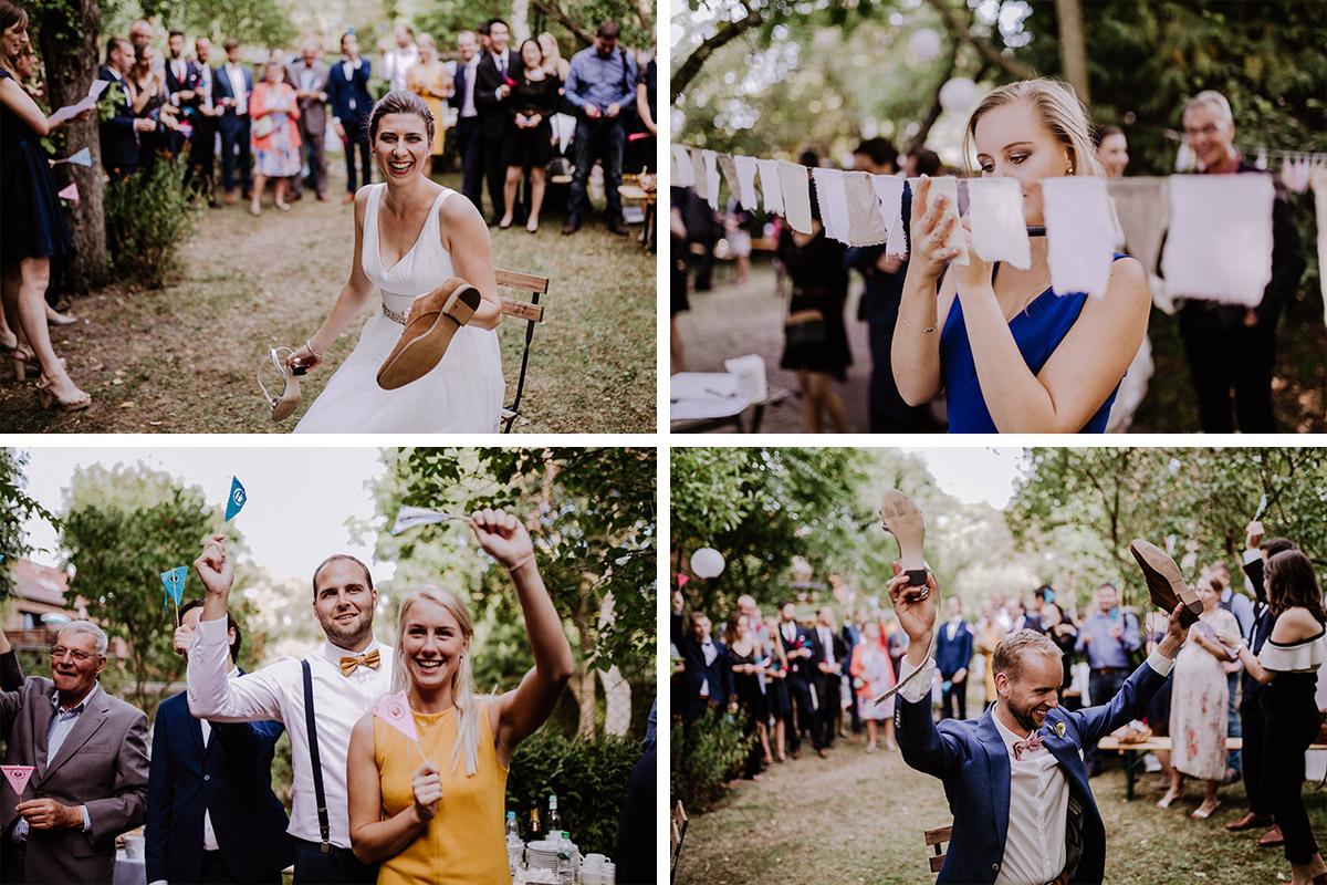 Hochzeitsfeier Garten - Schloss Schönhausen Hochzeitsfotograf © www.hochzeitslicht.de