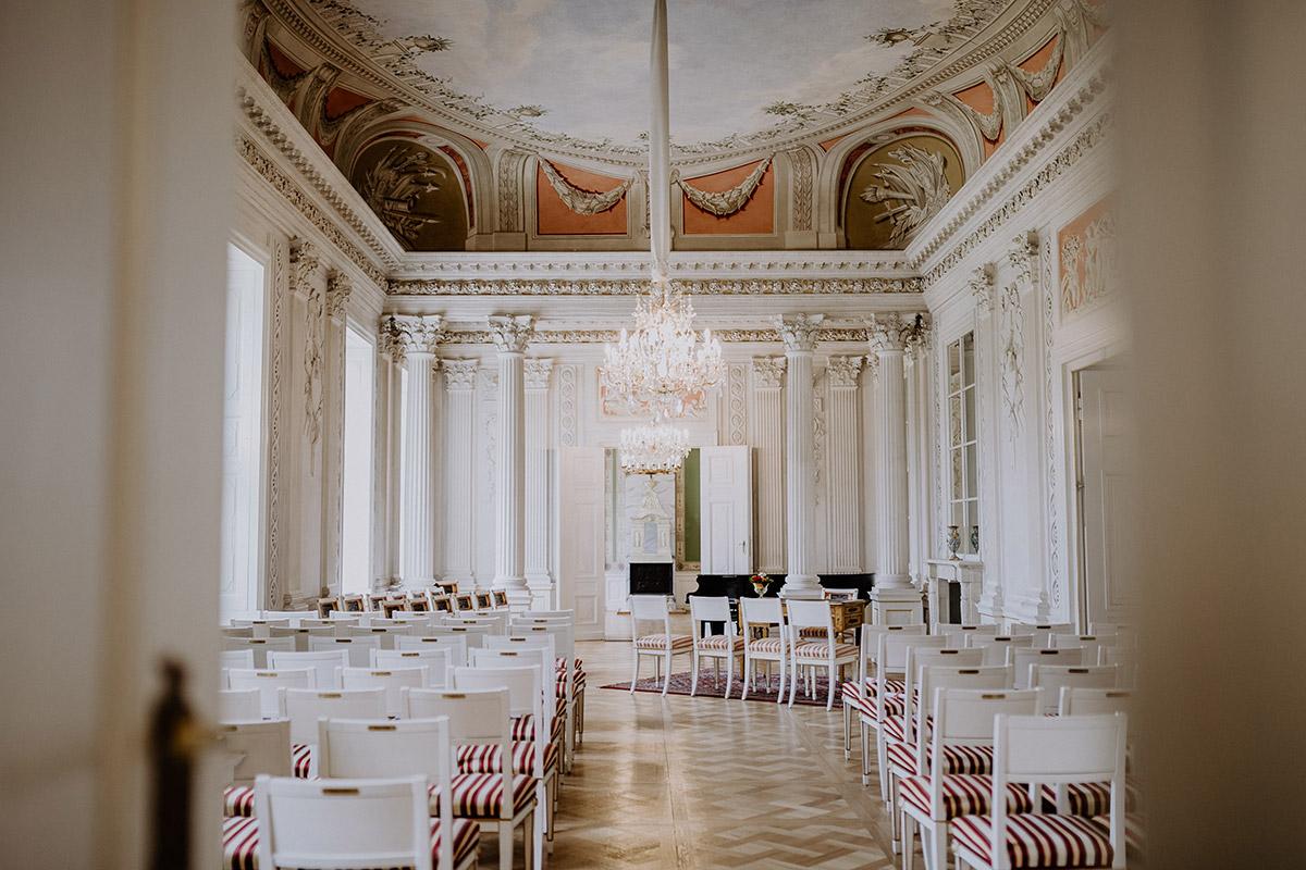 Schloss Friedrichsfelde Trauung - Schloss Friedrichsfelde Hochzeitsfotograf © www.hochzeitslicht.de
