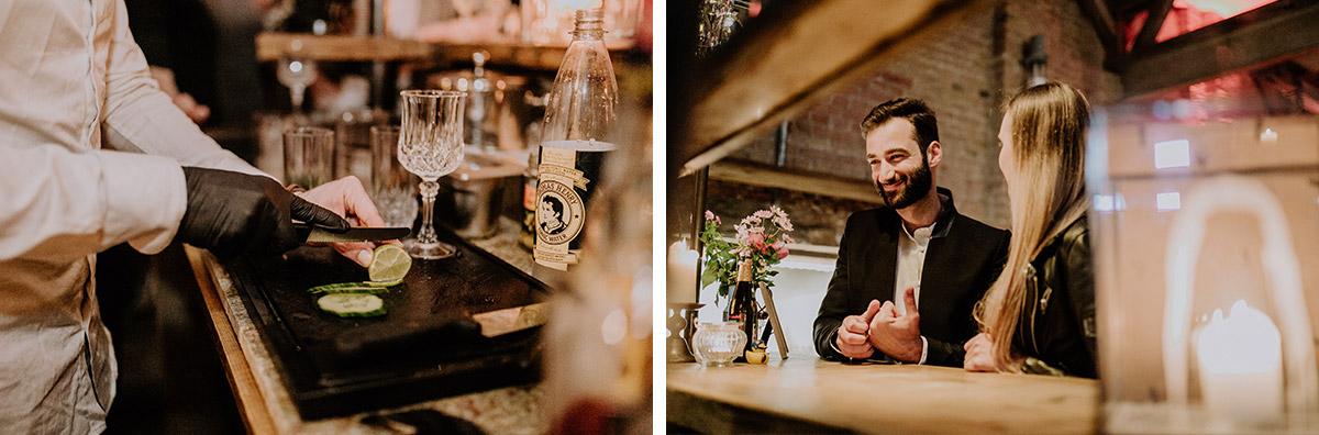 Hochzeitsfotos Hochzeitsparty Friedrichshain - Old Smithy's Dizzle Alte Schmiede Berlin Hochzeitsfotograf © www.hochzeitslicht.de