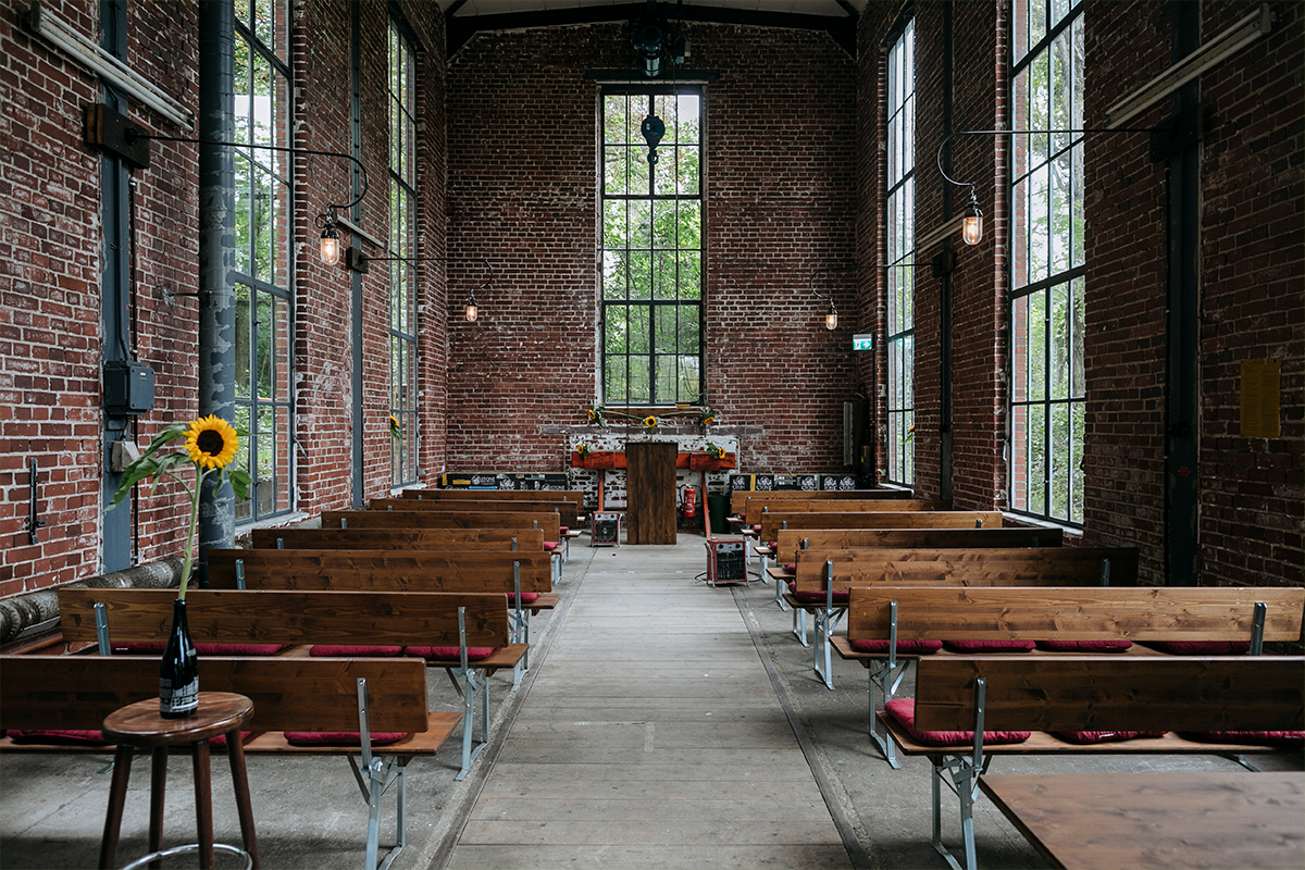 Trauung Stone Brewing Berlin - Friedrichshain und Stone Brewing Berlin Hochzeitsfotograf © www.hochzeitslicht.de
