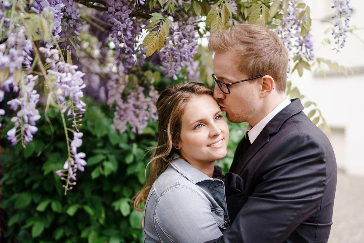 Idee Outfit standesamtliche Hochzeit - Standesamt Köpenick Hochzeitsfotograf © www.hochzeitslicht.de