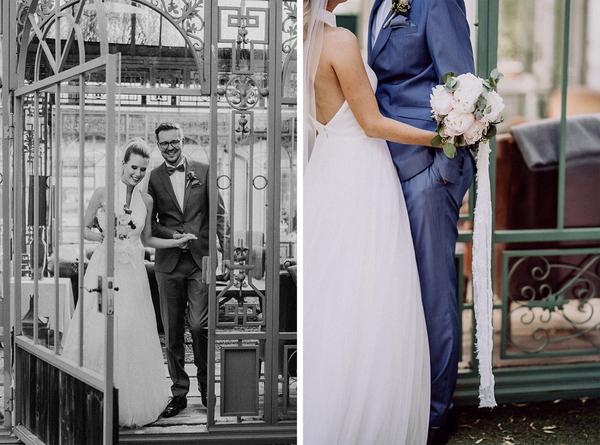 Idee Hochzeitsfoto Brautpaar elegant Vintagehochzeit - vintage Spreewaldhochzeit Hotel zur Bleiche Hochzeitsfotograf und Hochzeitsvideo Berlin © www.hochzeitslicht.de