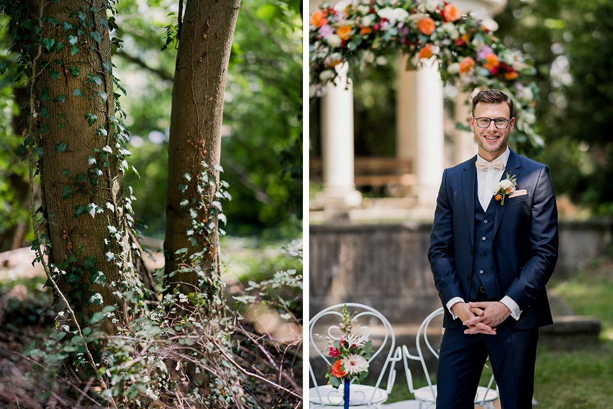 Hochzeitsreportage elegante Landhochzeit Sommer - Schloss Blankensee Hochzeit Hochzeitsfotograf Berlin © www.hochzeitslicht.de