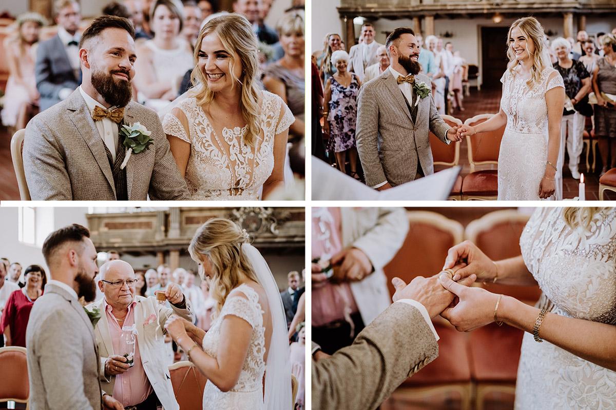 Hochzeitsfotos Standesamt Schöneiche Trauung - Hochzeit in Scheune und Standesamt in Kirche Berlin von Hochzeitsfotografin © www.hochzeitslicht.de