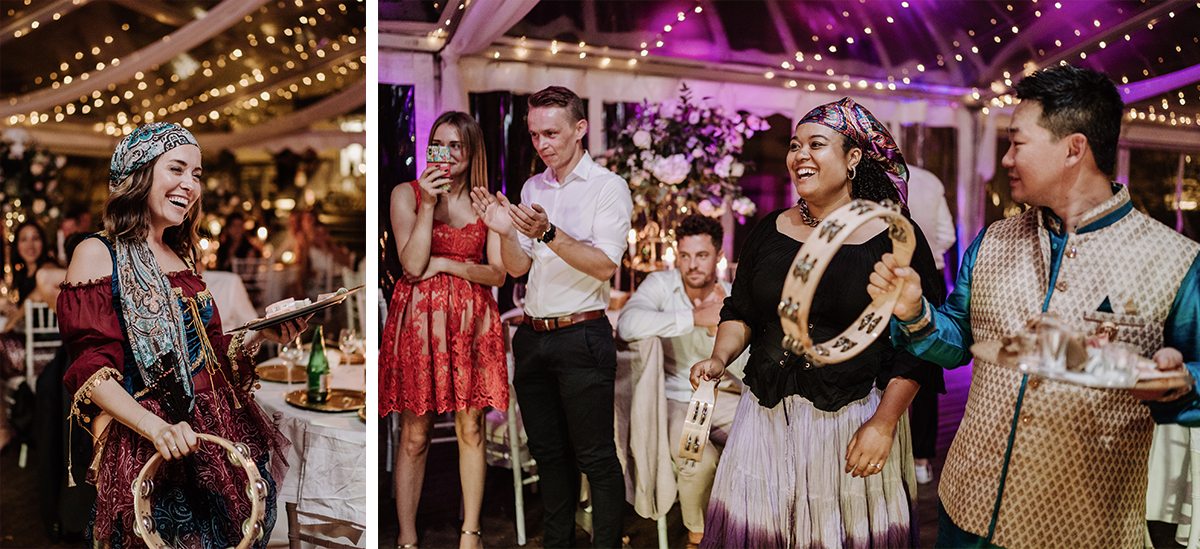 Idee Unterhaltung Gäste internationale Hochzeit - elegante deutsch-russisch-amerikanische Schloss Steinhöfel Hochzeit von Hochzeitsfotograf Brandenburg © www.hochzeitslicht.de