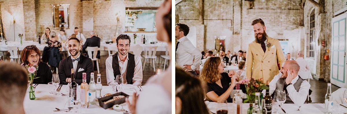 DIY Hochzeitsfeier industrial Hochzeitslocation - moderne, hippe und urbane Hochzeitsreportage im von Greifswald Berlin von Hochzeitsfotografin © www.hochzeitslicht.de