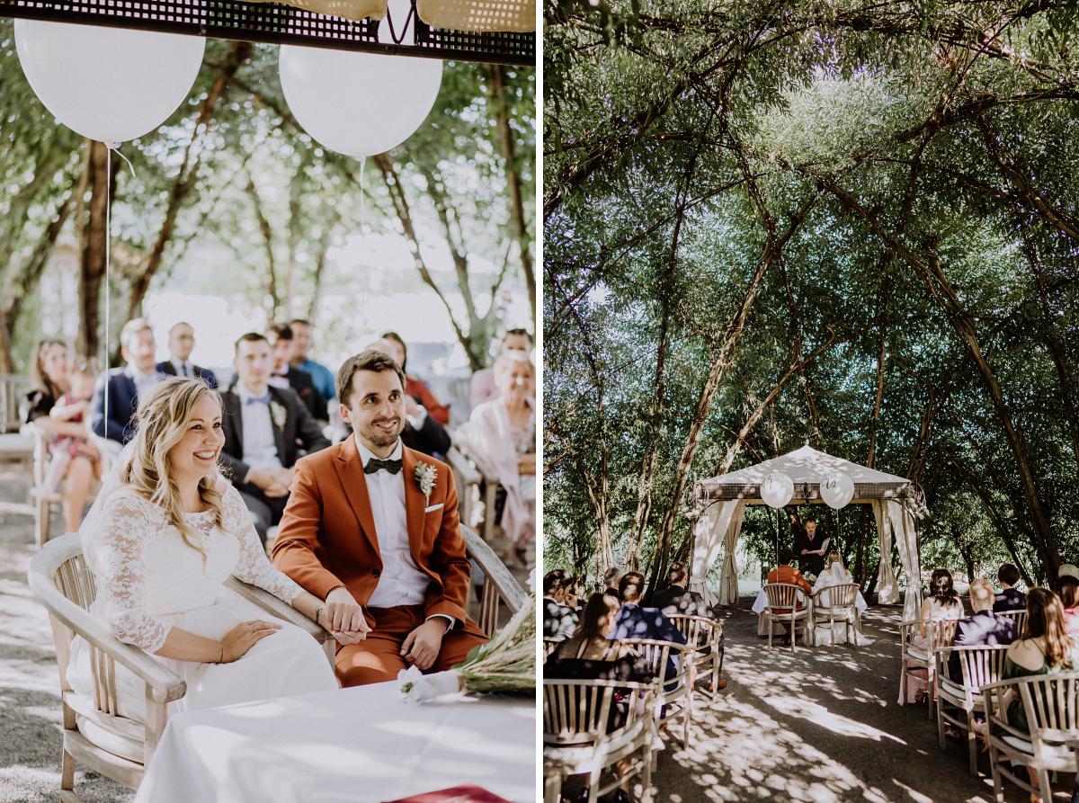 Hochzeitsreportagefoto natürliche Hochzeit Spreewald - Standesamt Weidendom und Spreewood Distillers DIY-Herbst-Hochzeit von Spreewald Hochzeitsfotografin aus Berlin © www.hochzeitslicht