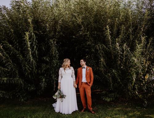 Hochzeitsfotografin Spreewald im Weidendom und Spreewood Distillers