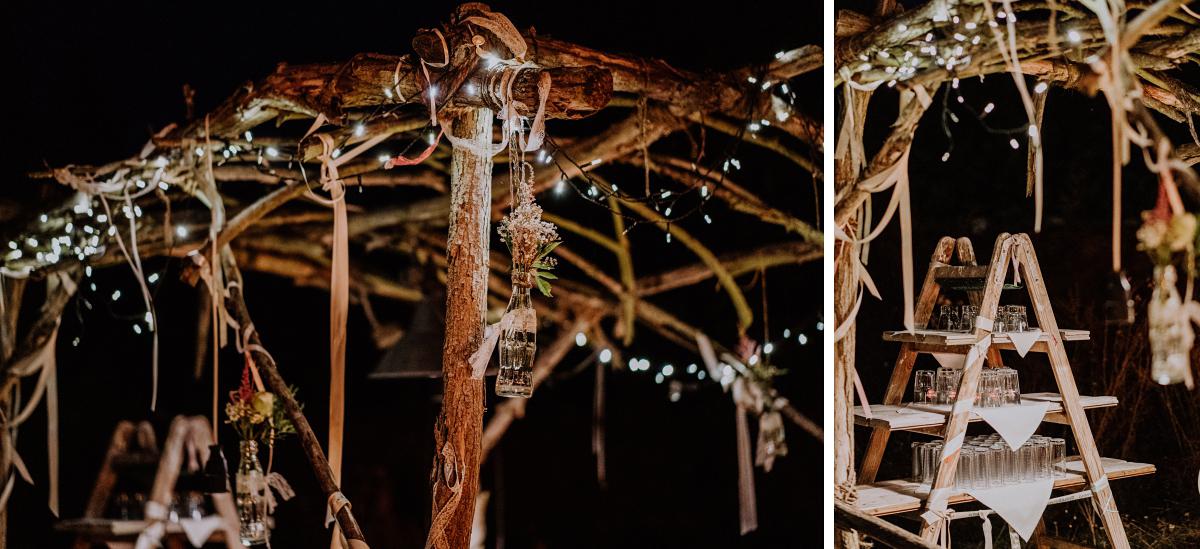 Inspiration vintage Gartenhochzeit Brandenburg - Boho-Scheunenhochzeit in Brandenburg im Schmetterlingsgarten mit Hochzeitsfotografin aus Berlin © www.hochzeitslicht.de