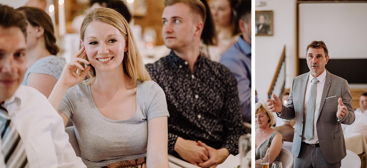 Hochzeitsfotos Gäste Hochzeitsfeier - Spreewald Hochzeitsfotografin im Standesamt Weidendom Hochzeit am Wasser im Spreewaldresort Seinerzeit © www.hochzeitslicht.de