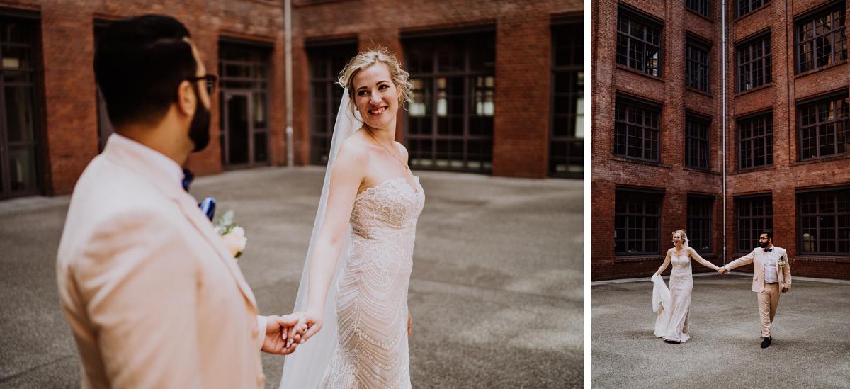 Fotoshooting Hochzeit verspielt - Persische Boho-Chic Hochzeit in der Malzfabrik Berlin von Hochzeitsfotografin aus Berlin Friedrichshain © www.hochzeitslicht.de #hochzeitslicht