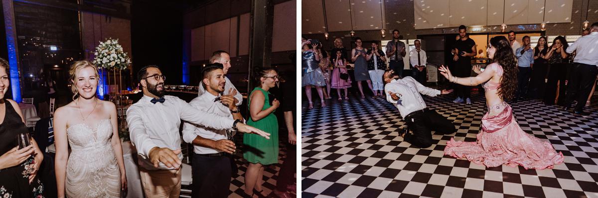 Idee Unterhaltung Gäste Bauchtanz - Persische Boho-Chic Hochzeit in der Malzfabrik Berlin von Hochzeitsfotografin aus Berlin Friedrichshain © www.hochzeitslicht.de #hochzeitslicht