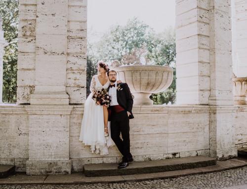Standesamt Hochzeitsfotografin auf urbane Gartenhochzeit in Berlin Friedrichshain