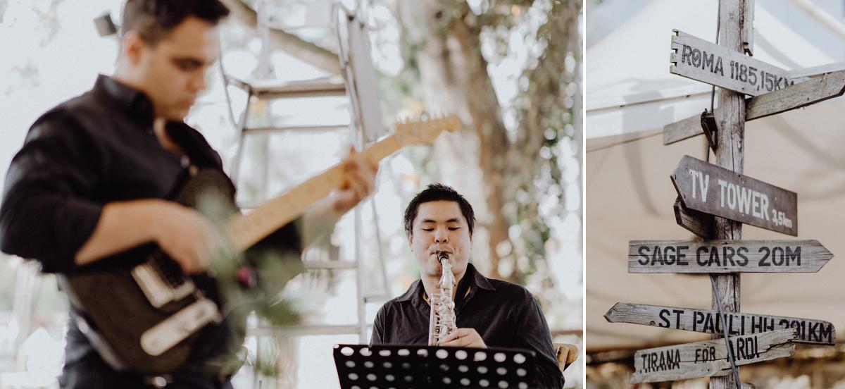 Idee Unterhaltung Gäste Livemusik Band - Hochzeitsfotograf in Hochzeitslocation mit Strand an der Spree im Sage Restaurant Berlin © www.hochzeitslicht.de #hochzeitslicht