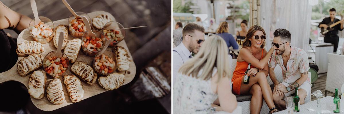 Inspiration entspannte Hochzeit am Wasser - Hochzeitsfotograf in Hochzeitslocation mit Strand an der Spree im Sage Restaurant Berlin © www.hochzeitslicht.de #hochzeitslicht