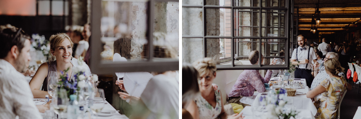urbane Vintagehochzeit Berlin - Hochzeitsfotograf in Hochzeitslocation mit Strand an der Spree im Sage Restaurant Berlin © www.hochzeitslicht.de #hochzeitslicht