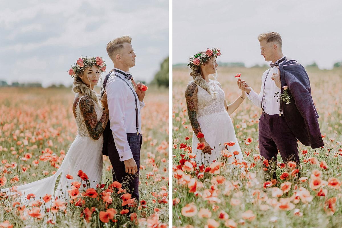 Posing Brautpaarfotos Landhochzeit Sommer Brandenburg - Standesamt Hochzeit am Wasser in Seelodge von Hochzeitsfotograf Brandenburg © www.hochzeitslicht.de #hochzeitslicht
