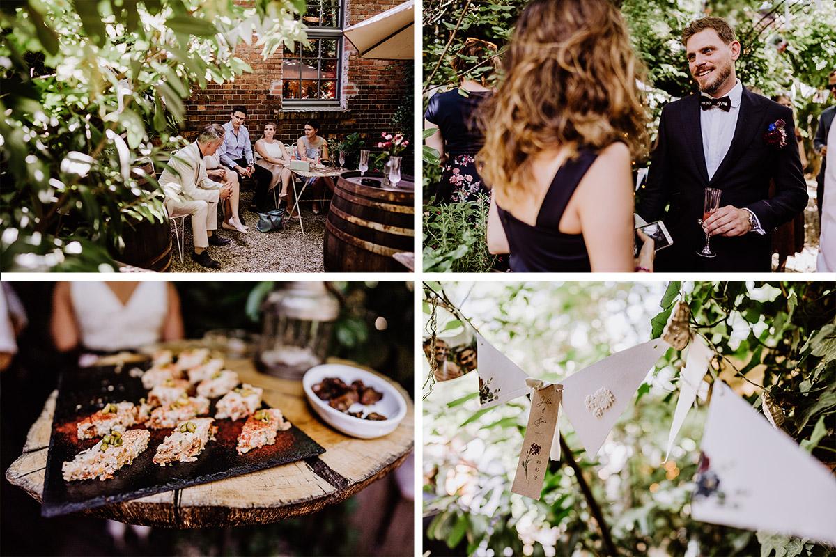 Gartenhochzeit Berlin - Hochzeit Berlin Friedrichshain in Hochzeitslocation Old Smithy's Dizzle von Boho Hochzeitsfotograf © www.hochzeitslicht.de #hochzeitslicht