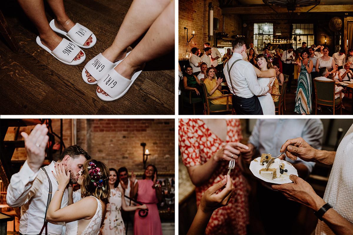 Fotos Momente Hochzeitsfeier - Hochzeit Berlin Friedrichshain in Hochzeitslocation Old Smithy's Dizzle von Boho Hochzeitsfotograf © www.hochzeitslicht.de #hochzeitslicht