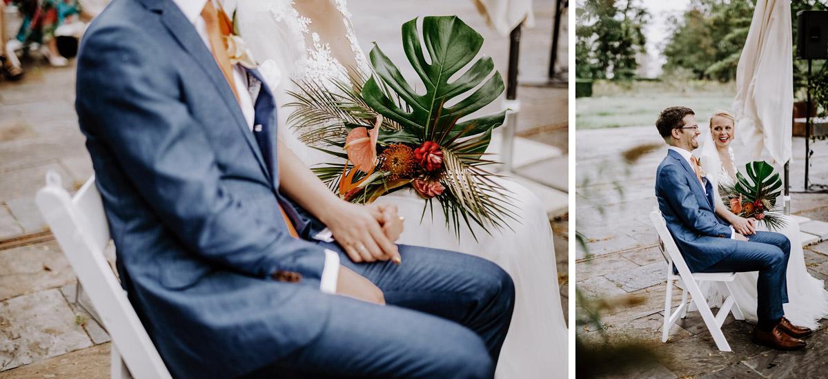 natürliche Sommerhochzeit tropisch - Hochzeitsfotos tropische Hochzeit in der Biosphäre Potsdam von Hochzeitsfotograf Berlin © www.hochzeitslicht.de #hochzeitslicht