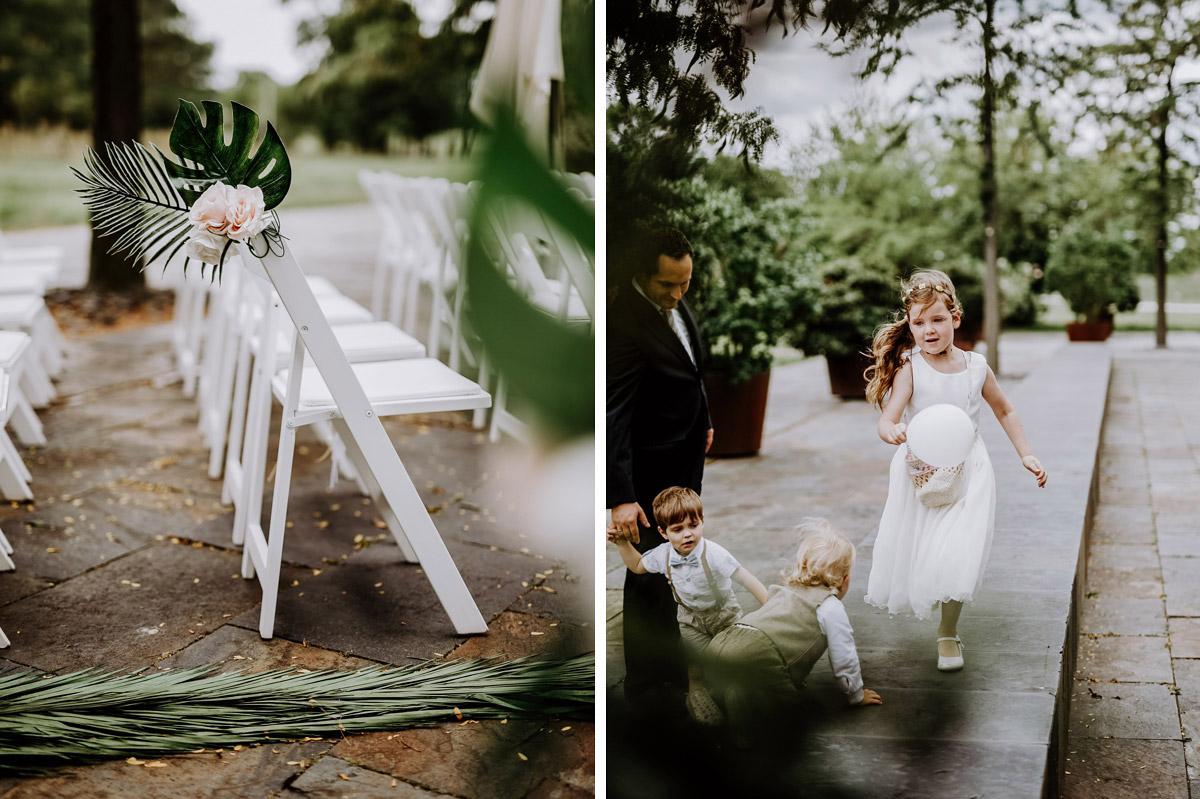 Ideen Unterhaltung Kinder Hochzeit - Hochzeitsfotos tropische Hochzeit in der Biosphäre Potsdam von Hochzeitsfotograf Berlin © www.hochzeitslicht.de #hochzeitslicht
