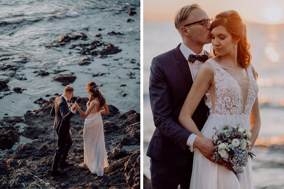 Paarfoso am Meer - Italien Hochzeit mit Hochzeitplanerin aus Berlin #hochzeitslicht Toskana Hochzeitsfotos und Hochzeitsfilm © www.hochzeitslicht.de