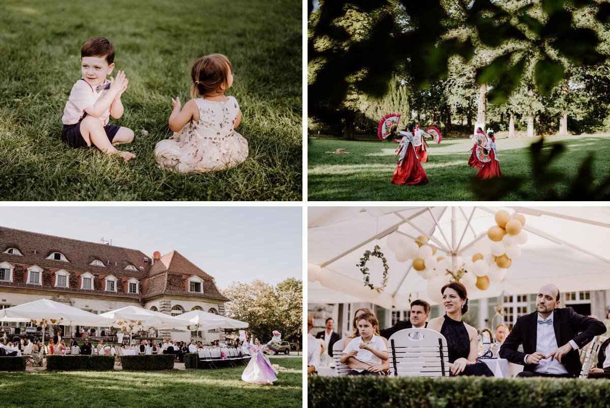 Hochzeitsfeier mit koreanischer freier Trauung auf Schloss Kartzow von vintage Hochzeitsfotografin aus Berlin #hochzeitslicht © www.hochzeitslicht.de