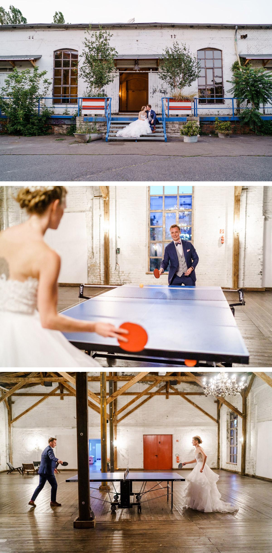 Brautpaar lustig: Oft werden wir nach stilvolle Ideen für lustige Brautpaarfotos nach dem Standesamt gefragt. Ihr sucht auch nach einer Idee für eure Hochzeitsbilder bzw. euer Brautpaarfoto-Shooting? Wir Hochzeitsfotografen aus Berlin fragen dann immer: Was spielt ihr denn gern gemeinsam? - Dieses Hochzeitspaar mag Tischtennis und so sind natürliche Portraits aus der Bewegung heraus entstanden - mehr Hochzeitsfotos von #hochzeitslicht © www.hochzeitslicht.de im Blog #Brautpaarshooting #Ideen #Hochzeitsfotos #Hochzeitspaar #Fotos