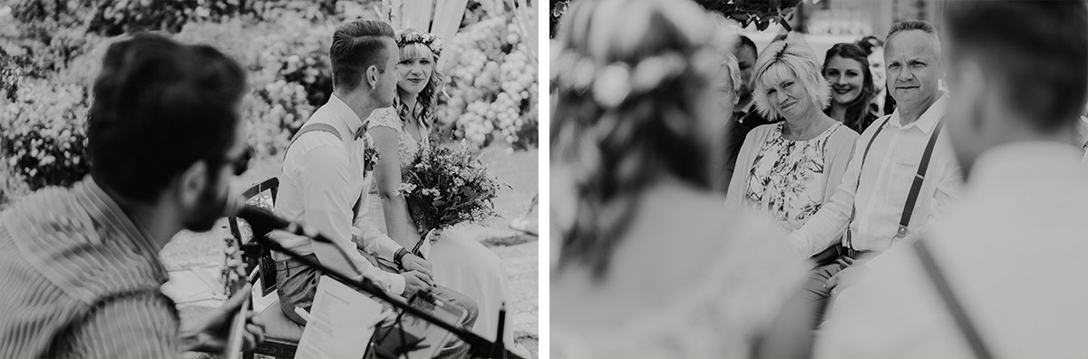 freie Trauung Sommerhochzeit - vintage Hochzeit in Scheune mit Garten in Brandenburg Ferienscheune Barnimer Feldmark von Hochzeitsfotograf aus Berlin #hochzeitslicht © www.hochzeitslicht.de