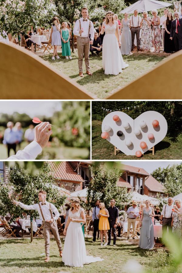 Hochzeit Ideen zur Unterhaltung Gäste auf Hochzeitsfeier