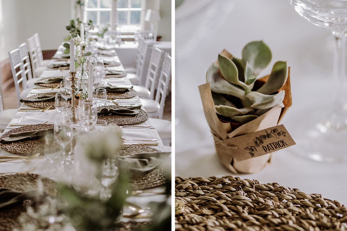 Gastgeschenk und Platzkarte Sukkulente von Hochzeitsfotografin Mel aus Berlin © www.hochzeitslicht.de #hochzeit #brautpaar #paarfotos #hochzeitsbilder #ideen #tipps