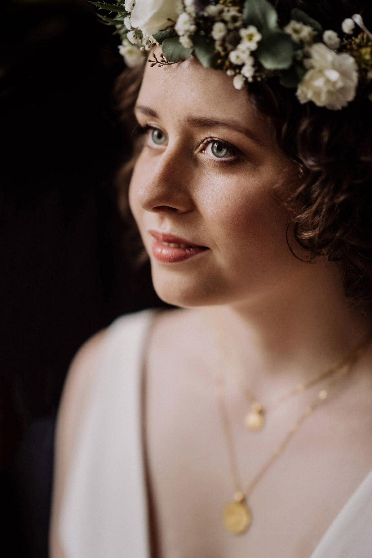 natürliches Braut Make up offene Haare Locken Braut #beautyrealbride © www.hochzeitslicht.de #hochzeitslicht
