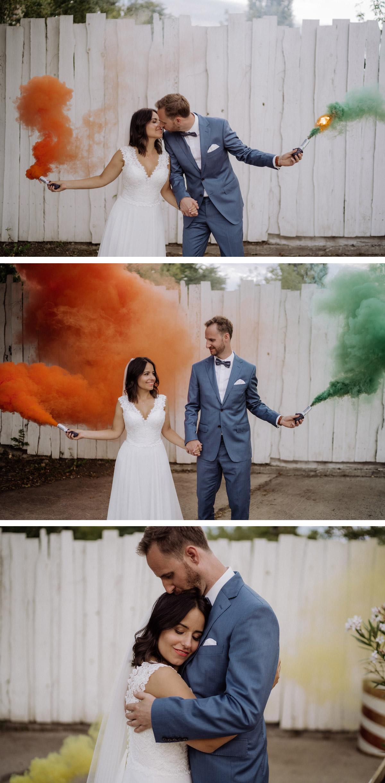 Hochzeit Rauchfackel Shooting: Hochzeitsfotos mit Rauchbombe alle Tipps und Ideen zu diesem Hochzeitsshooting Trend von Hochzeitsfotograf Berlin © www.hochzeitslicht.de #hochzeitslicht #hochzeitsidee #hochzeitstipp