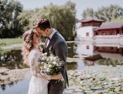 Hochzeit im Standesamt Berlin Gärten der Welt Chinesischer Garten