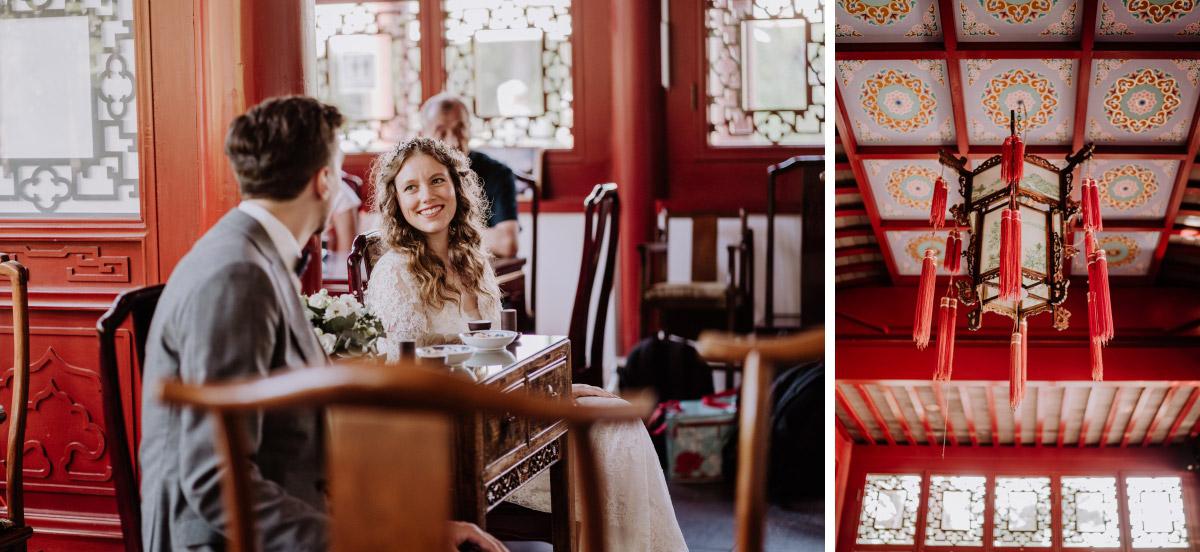Idee Hochzeit Standesamt originell Berlin - Corona Hochzeit im Standesamt Berlin Gärten der Welt Chinesischer Garten - mehr im Blog von Hochzeitsfotografin Berlin © www.hochzeitslicht.de #hochzeitslicht