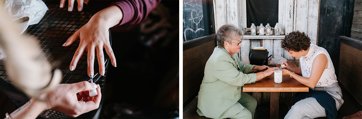 Idee Hochzeitsfotos Getting Ready Familie vor Hochzeit - Oberhafenkantine Berlin Hochzeit am Wasser, urbane Garten DIY-Hochzeit von Hochzeitsfotograf Berlin © www.hochzeitslicht.de #hochzeitslicht