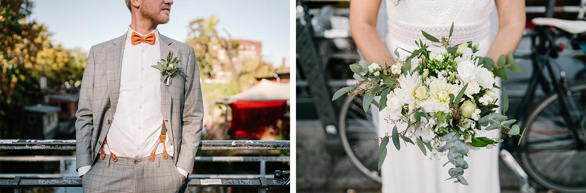moderne Hochzeitsfotos Brautpaar angeschnitten - Oberhafenkantine Berlin Hochzeit am Wasser, urbane Garten DIY-Hochzeit von Hochzeitsfotograf Berlin © www.hochzeitslicht.de #hochzeitslicht
