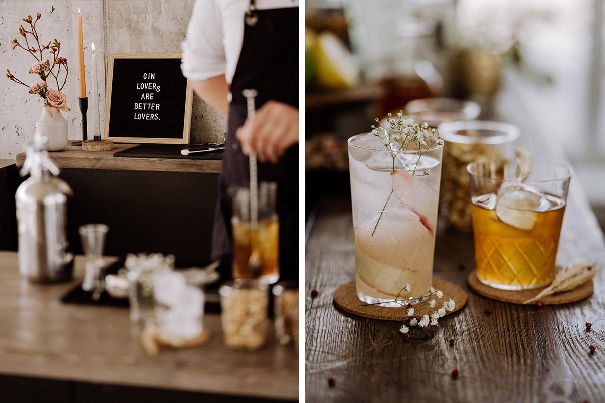 Idee Cocktails Hochzeit - schöne Hochzeitslocations in Berlin zu finden in der urbanen Elopement Hochzeitsreportage von Hochzeitsfotograf Berlin © www.hochzeitslicht.de #hochzeitslicht