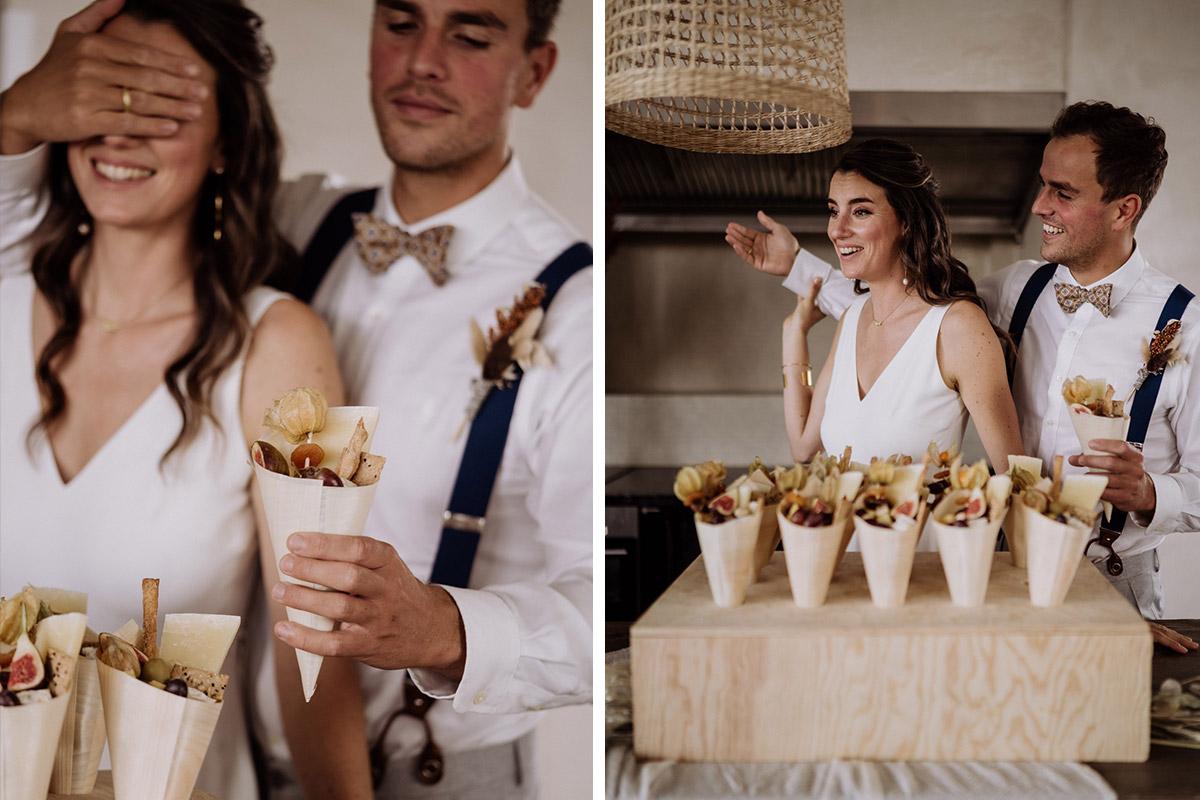 Idee Snacks Hochzeit - schöne Hochzeitslocations in Berlin zu finden in der urbanen Elopement Hochzeitsreportage von Hochzeitsfotograf Berlin © www.hochzeitslicht.de #hochzeitslicht