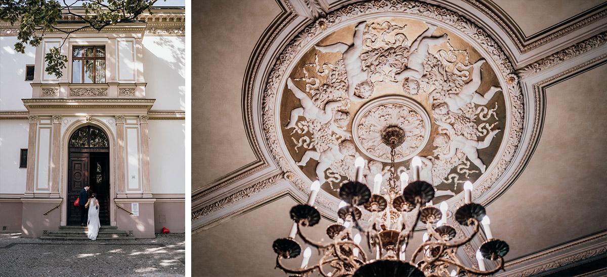 Villa Kogge Standesamt Schmargendorf Hochzeit von Hochzeitsfotograf Berlin © www.hochzeitslicht.de #hochzeitslicht